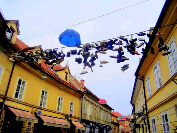 Street art in Ljubljana, Slovenia
