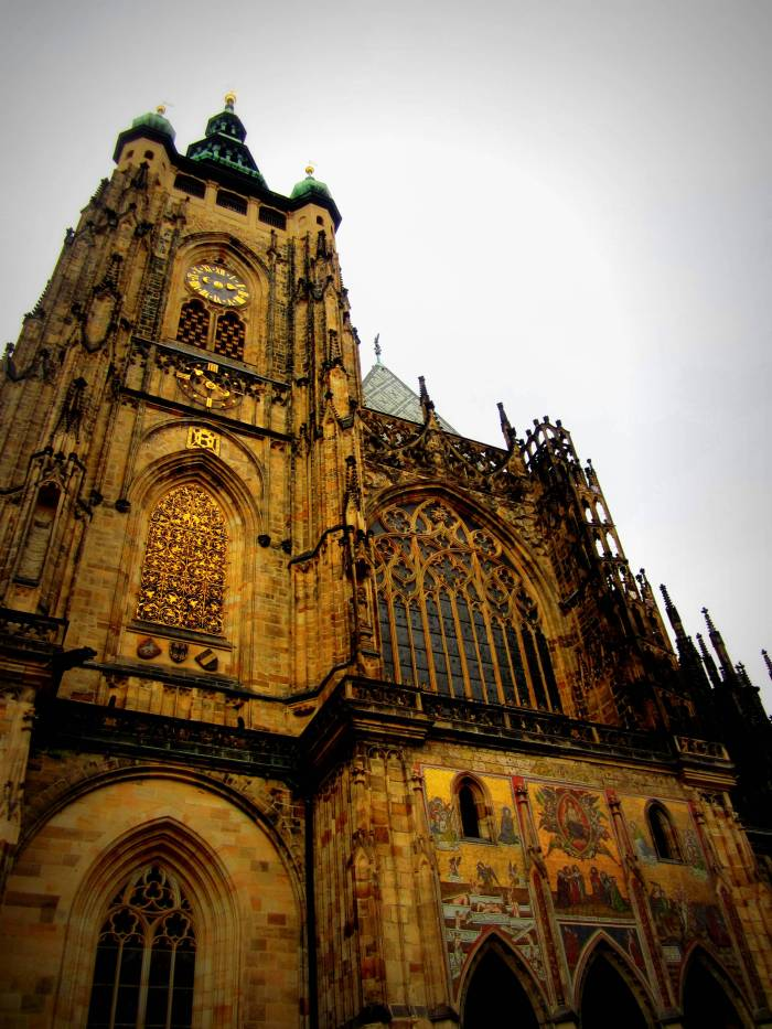 St. Vitus Cathedral. Prague, Czech Republic