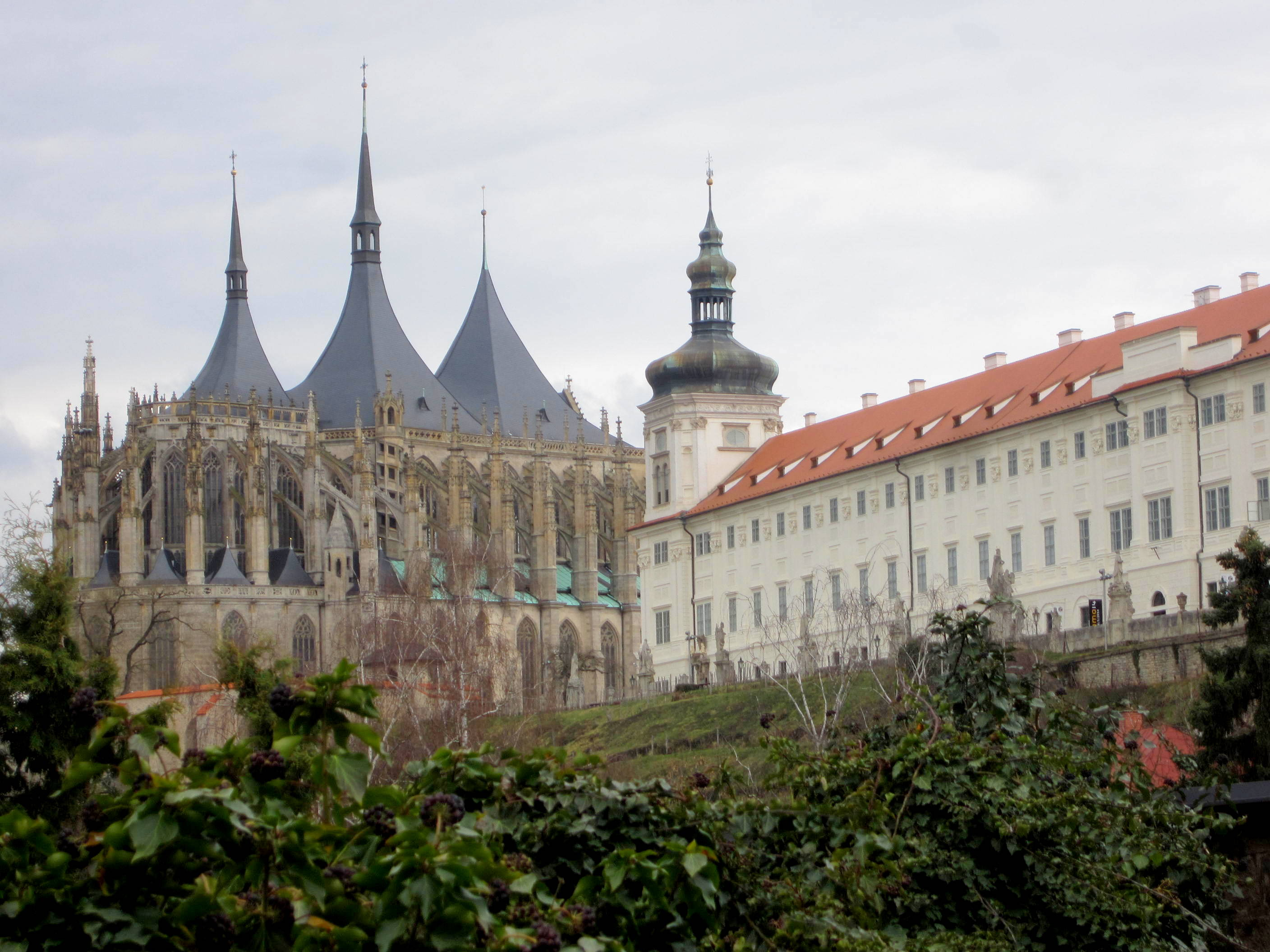St. Barbara's Cathedral, Kutna Hora, Czech Republic