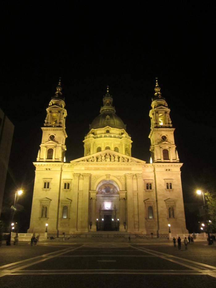 St. Stephen's Basilica. Budapest, Hungary.