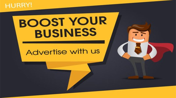 Advertise With Us - Give Your Marketing A Boost