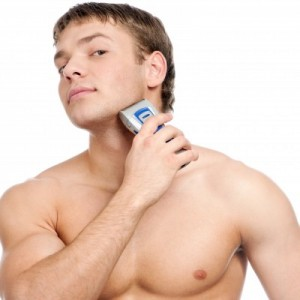 Anti Aging - High-quality razor and shaving cream
