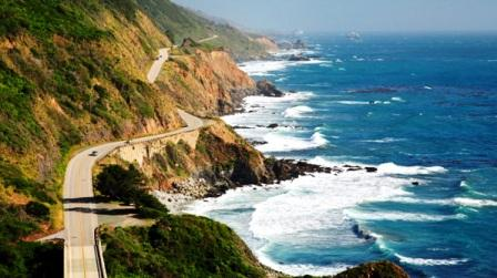 U.S. Highway 1 up the Pacific Coast