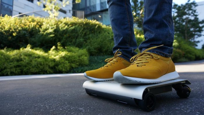 The WalkCar electric rolling pad