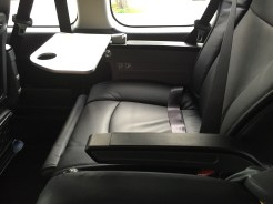 Luxury van seat