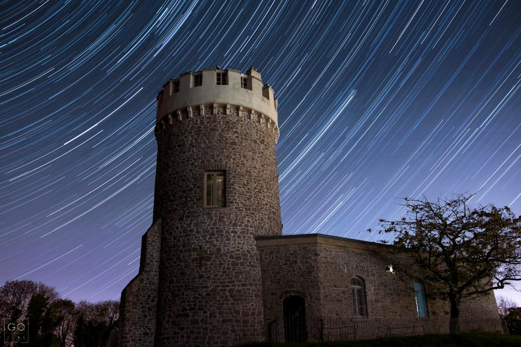 Clifton Observatory Star trails