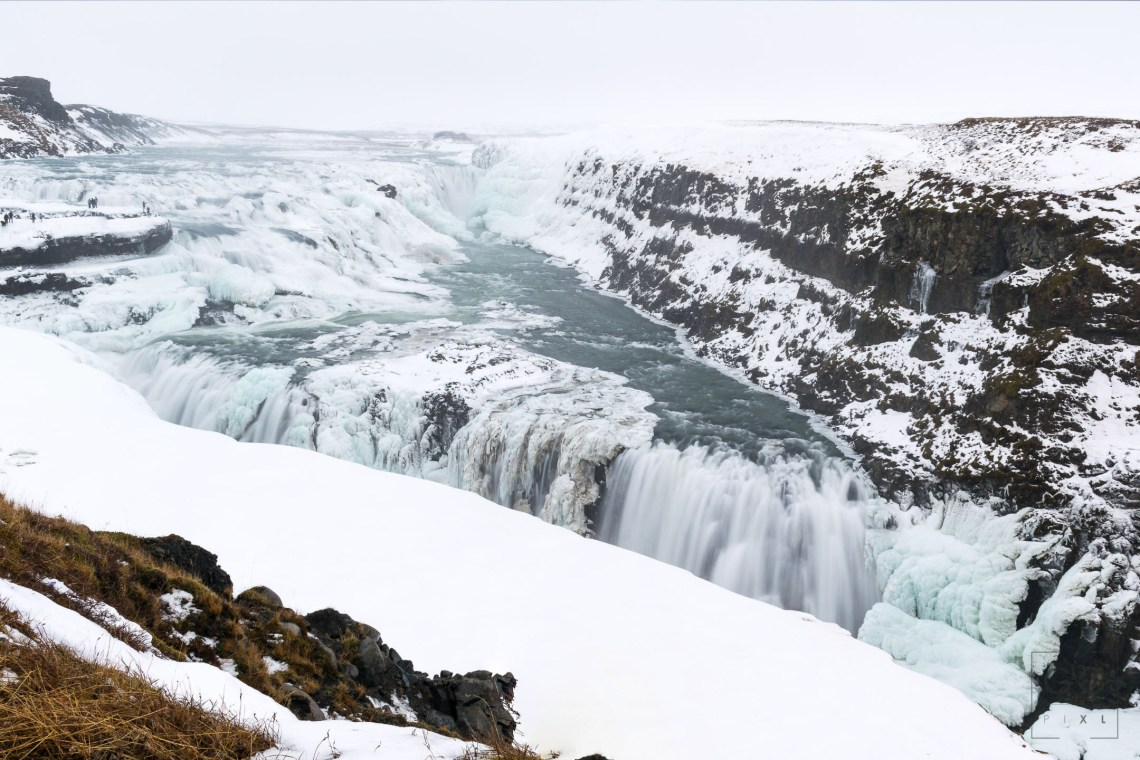 Gullfoss in January 2018