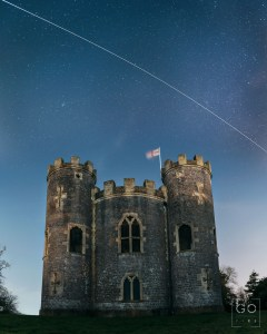 ISS over Blaise Castle