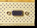 Разъём D-Sub на корпусе ЖК монитора