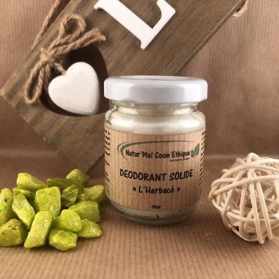 Déodorant solide l'Herbacé