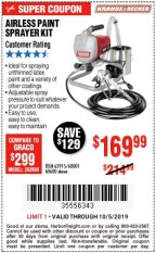 Krause And Becker Airless Sprayer : krause, becker, airless, sprayer, 9.99, Krause, Becker, Airless, Paint, Sprayer, Harbor, Freight, Coupons