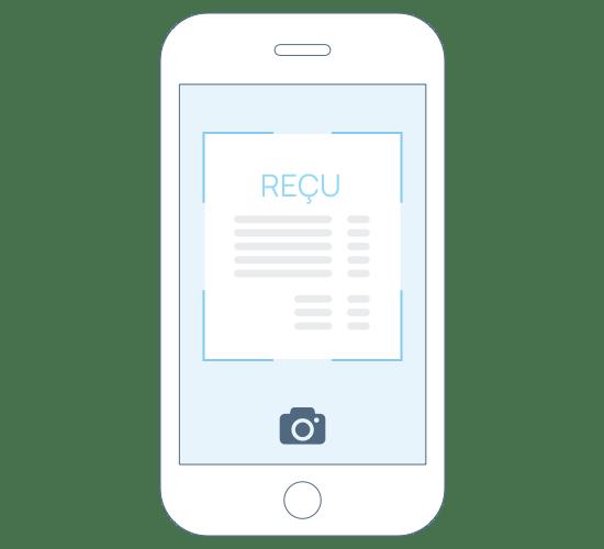 Création des dépenses et achats sur mobile