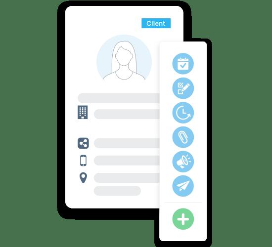incwo CRM - Organisez l'information client