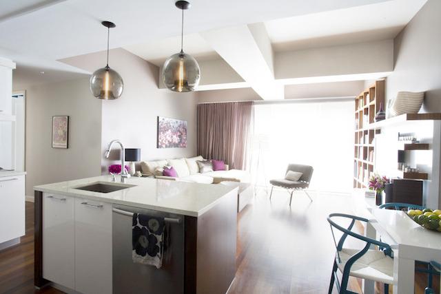Kitchen Island Stamen Pendants Featured In Designer's