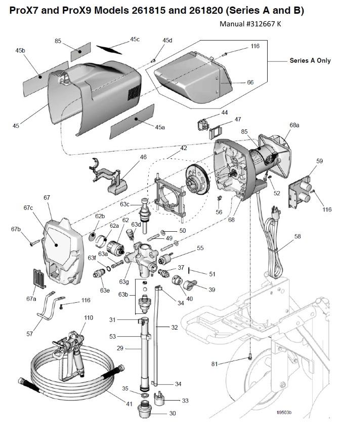 Hvlp Spray Gun Parts Besides Wagner Paint Sprayer Parts Diagram
