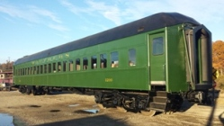 Segregated railroad car refurbished.