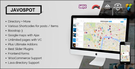 Javo spot wordpress theme
