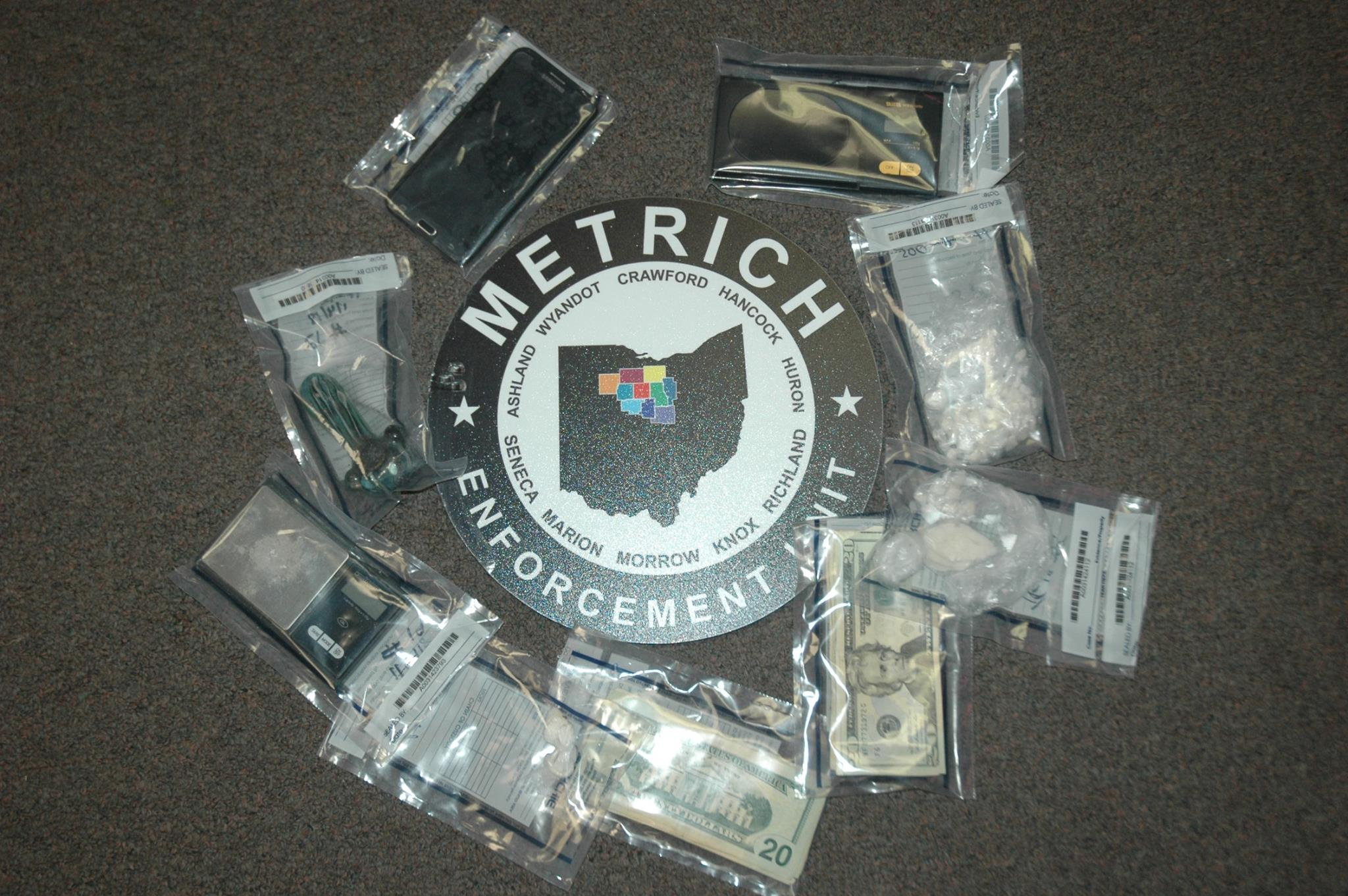 Drug-related warrants executed