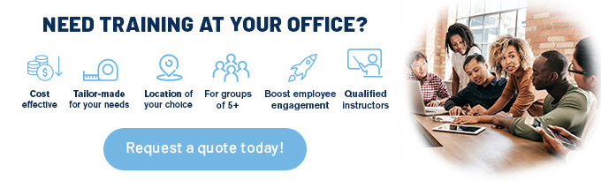 NEED TRAINING AT YOUR OFFICE?