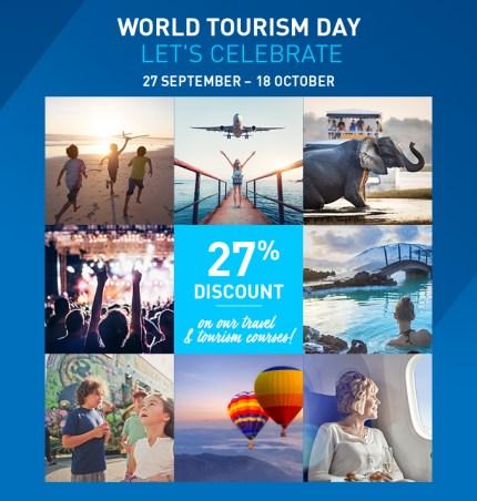 World Tourism Day - 27 September - 18 October