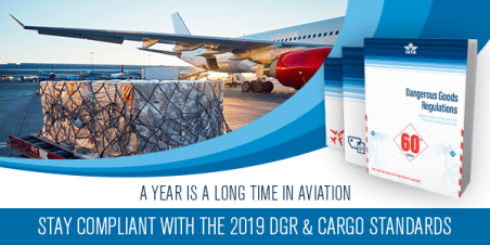 The 2019 Editions of the IATA DGR & Cargo Standards are only a few clicks away!