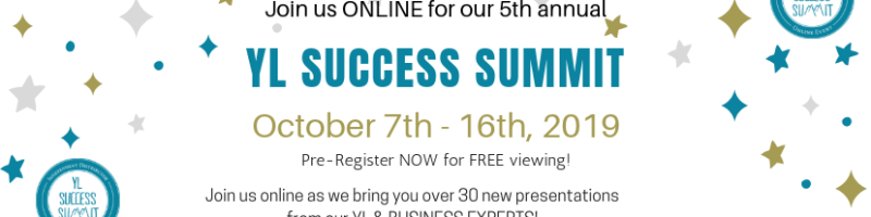 Young Living Success Summit to help you with innovative ideas to help you grow your YL essential oils business