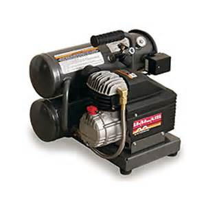 Air Compressor Rental available at the Effingham Builders Supply Rental Center