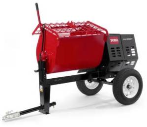 Mortar Mixer Rental at the Effingham Builders Supply Rental Center