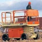 All Terrain Scissorlift Rental - Effingham Builders Supply Rental Center
