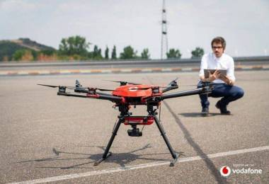 Vodafone drón
