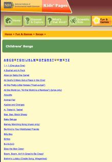 Children's Sing-Along Songs