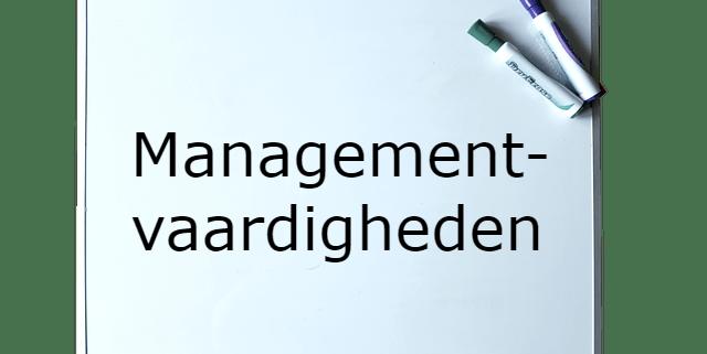 Opleiding Managementvaardigheden