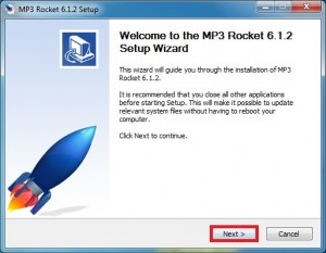 MP3 Rocket Basic Software Download For Windows 7, 8, 10