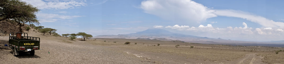 Tanzania Image Road to Loliondo lake Natron