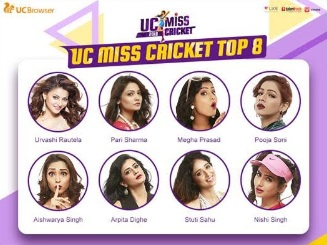 UC Browser' Miss Cricket Contest Enters Final Round