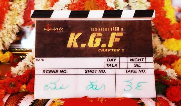 KGF Chapter 2' go on floors | Goa Chronicle
