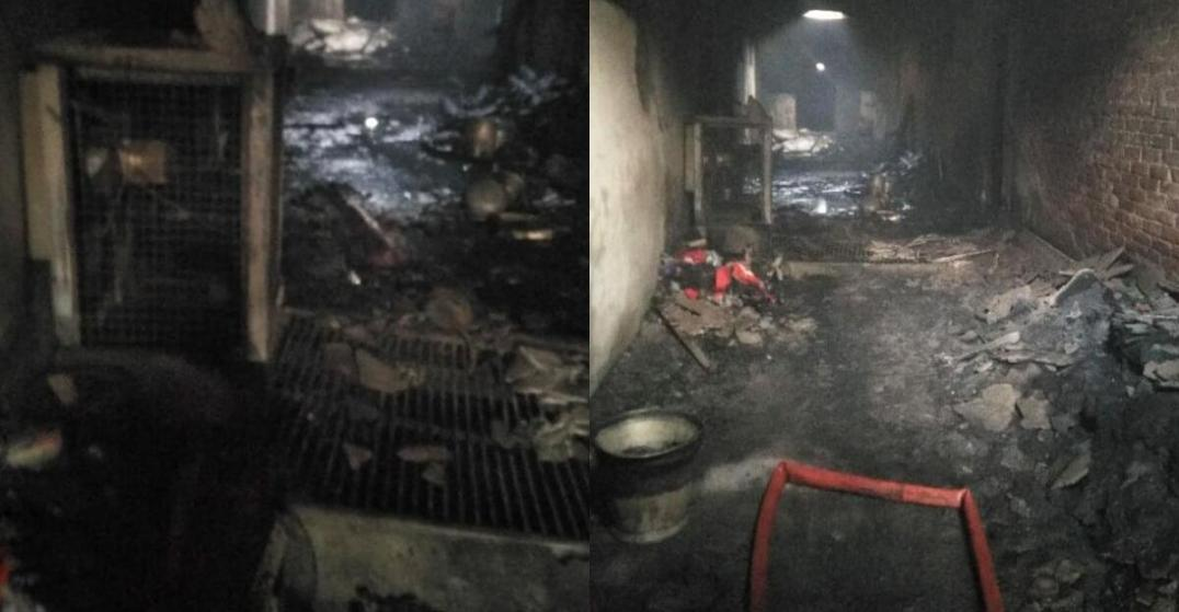 Fire in Delhi's Anaj Mandi leaves dozens of factory workers dead ile ilgili görsel sonucu