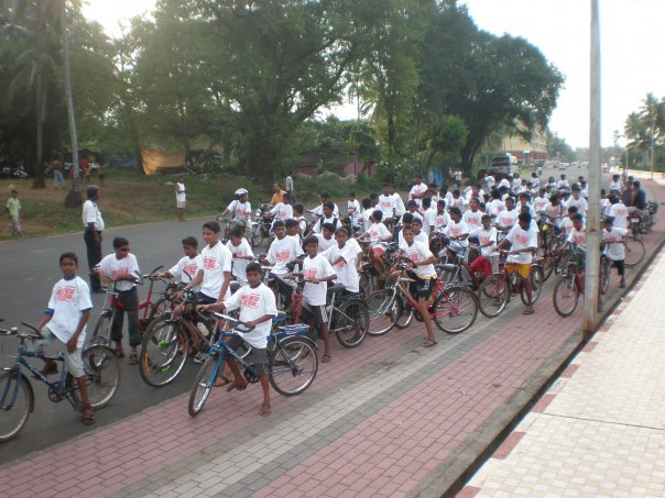 Childrens day ride