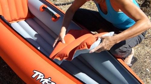 Installing the foot brace