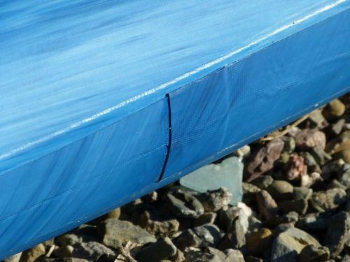 Quadruple taped side rails