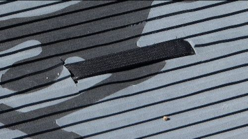 Central carry handle and thick traction pad