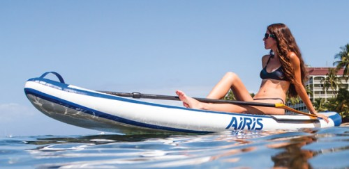New Airis Hardtop Line of Inflatable Paddle Boards