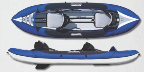 New Deschutes Two HB Inflatable Kayak from Aquaglide