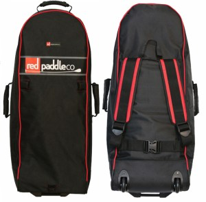 New 2014 Red Air Backpack with integrated wheels