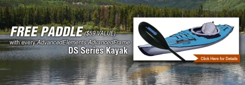 Free paddle wtih AdvancedFrame DS