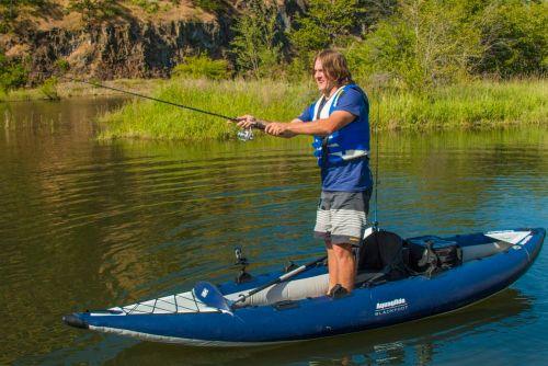 Blackfoot Inflatable Fishing Kayak