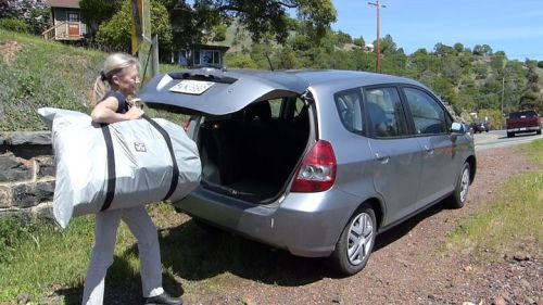 Chinook 2 is highly portable, fits in the trunk of a small car.