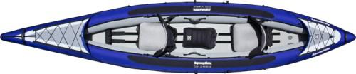 The Aquaglide Columbia Tandem inflatable kayak