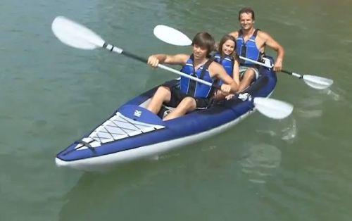 AquaGlide Columbia 140 XL Inflatable Kayak