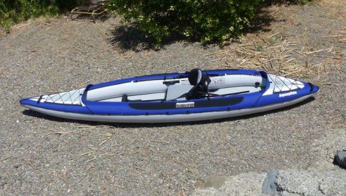 Columbia Two as a solo kayak